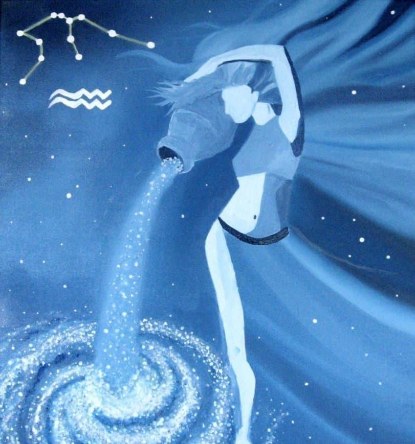луна в водолее для женщины