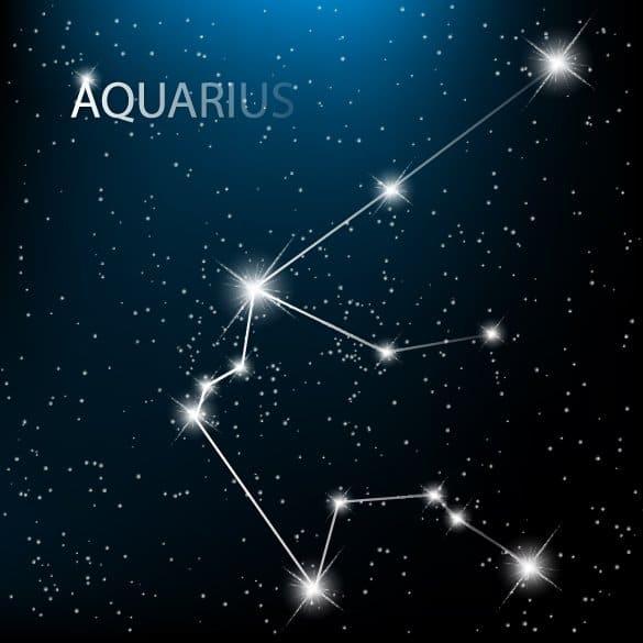 созвездие Водолея на небе