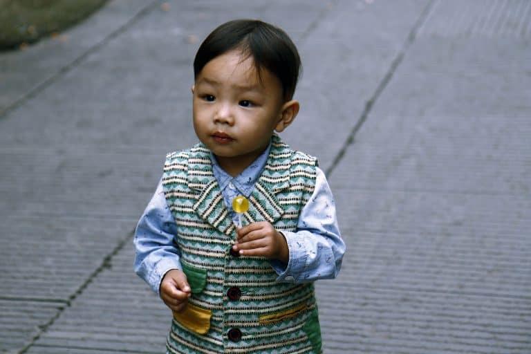 как называют детей в Китае?