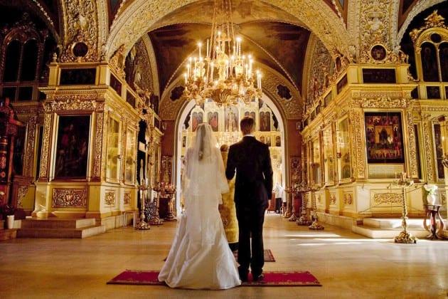 венчание в храме фото