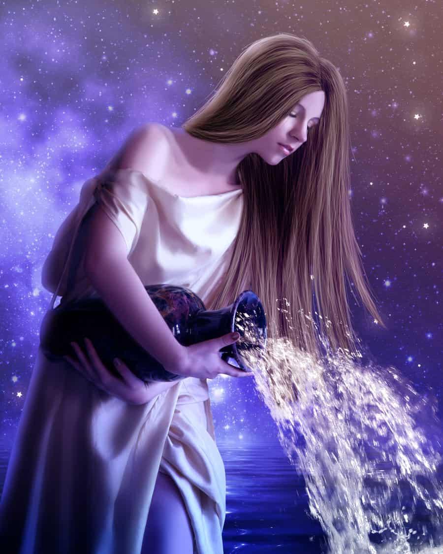 Сатурн в Водолее у женщины
