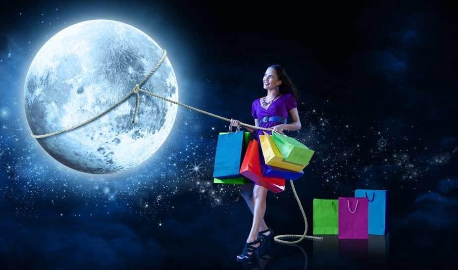 шопинг по лунному календарю
