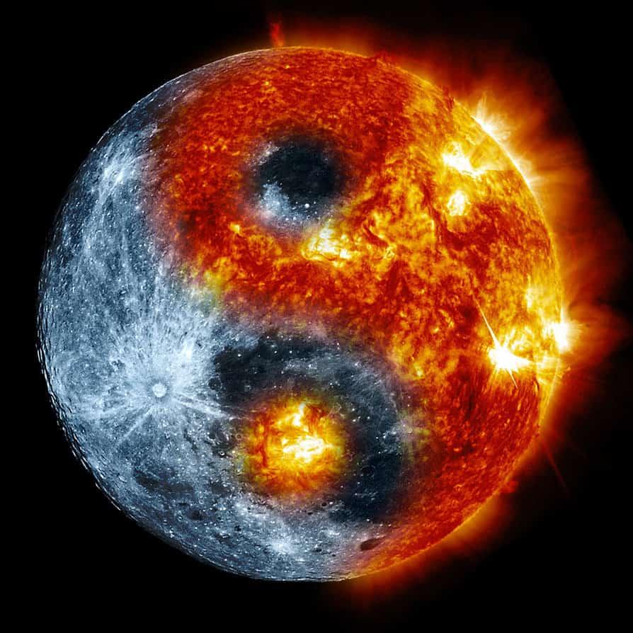 Солнце и Луна - Ян и Инь