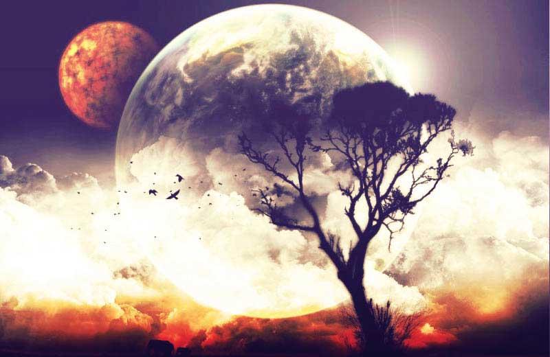Солнце и Луна влияют на человека