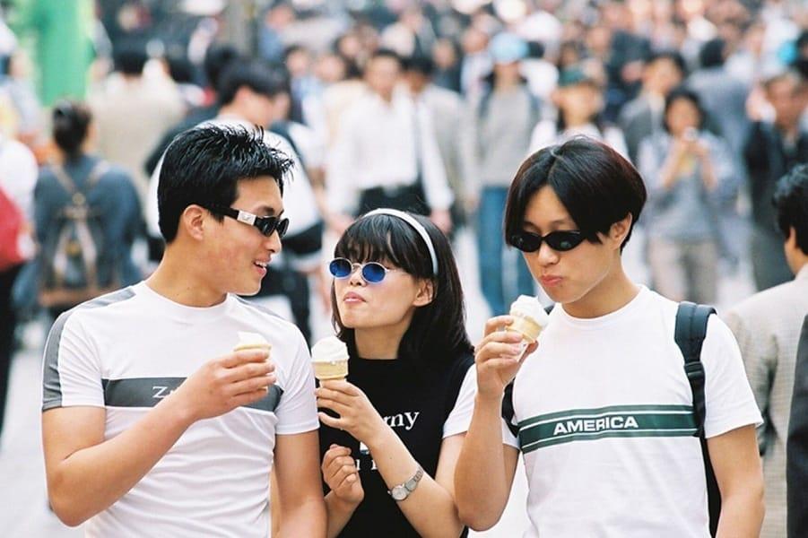 корейцы фото