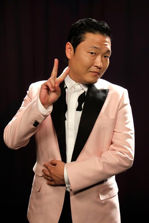 корейский певец PSY