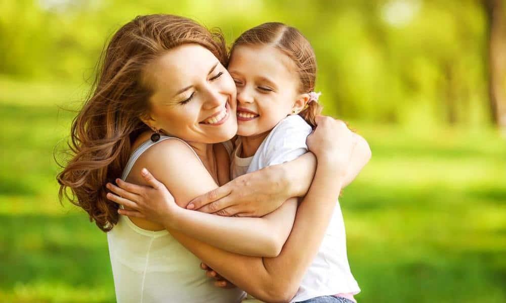 дети-кинестетики любят обниматься