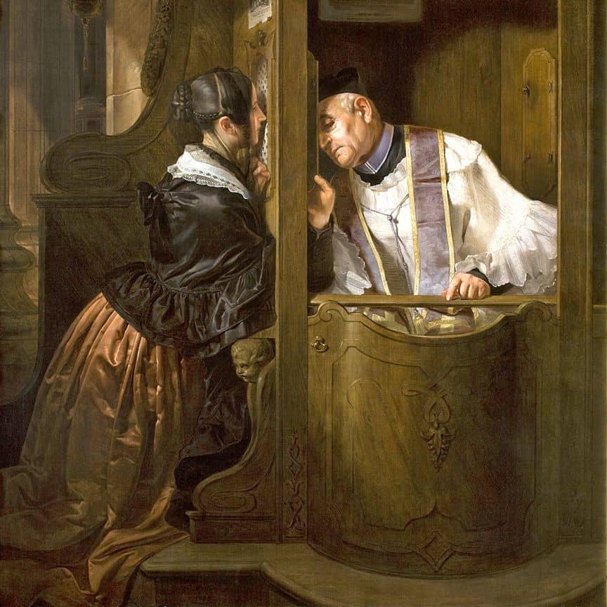 исповедь у католиков