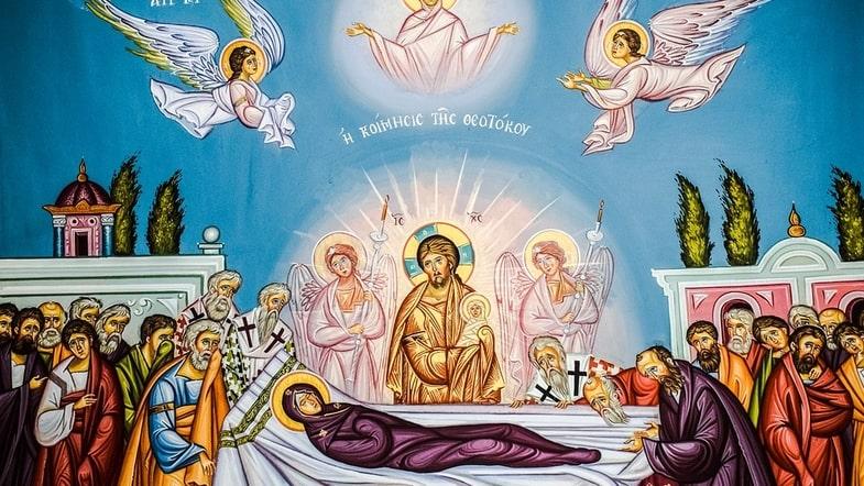 смерть Девы Марии