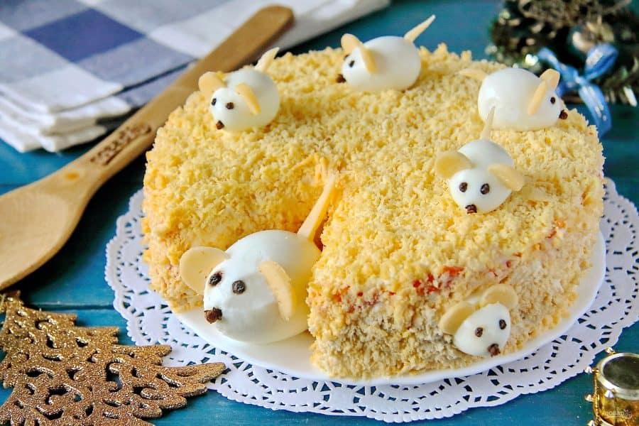 украшения-мышки на торте