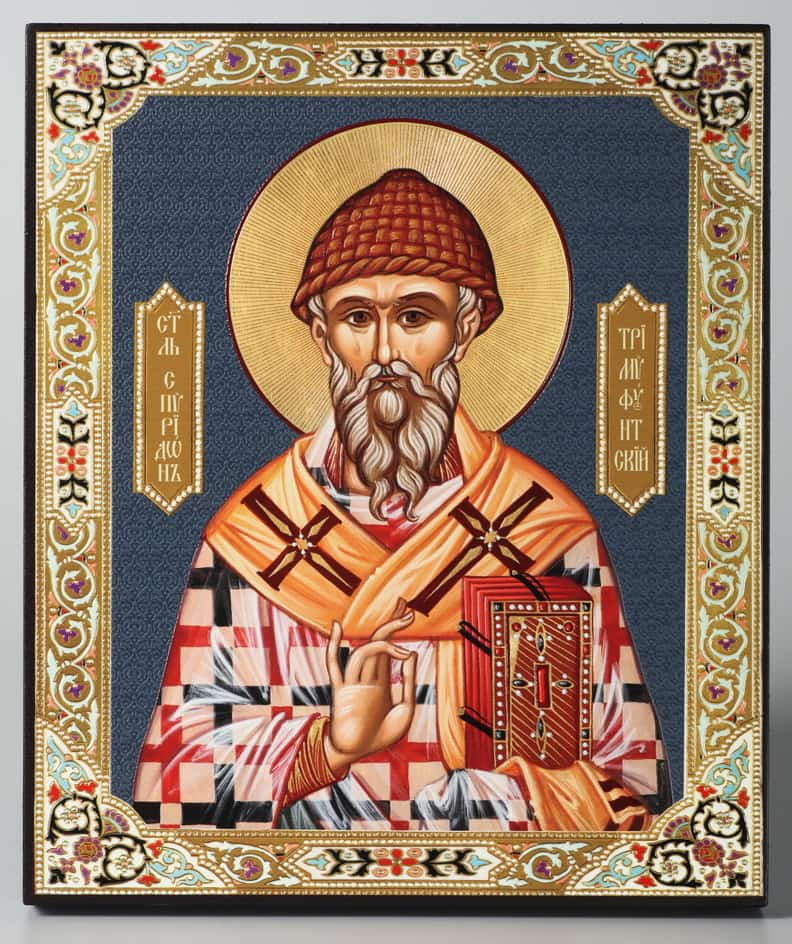 Три самых сильных молитв спиридону тримифунтскому