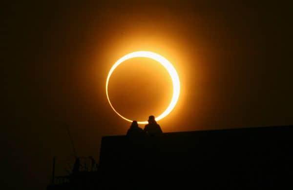 виды солнечного затмения