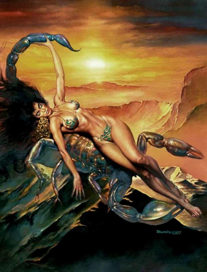 Солнце в Скорпионе у женщины