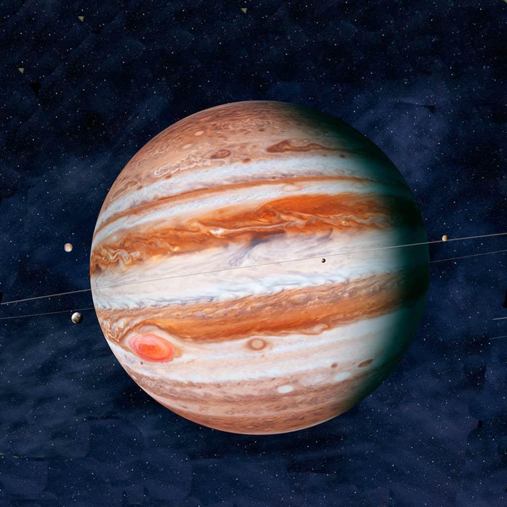 Юпитер в 10 доме у женщины