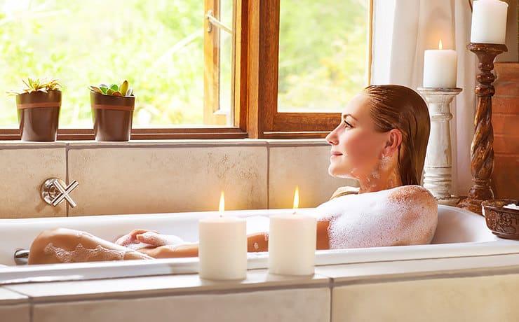 Ритуал очищения в ванне