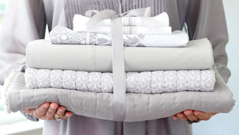 постельное белье - хороший подарок