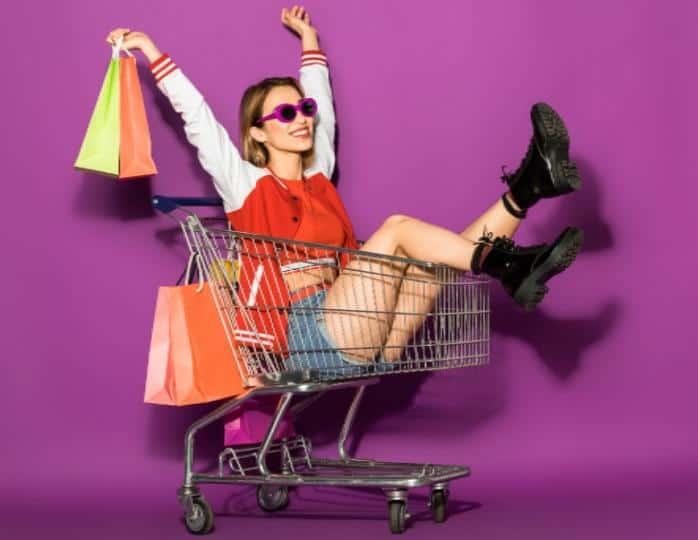 удачный день для шопинга