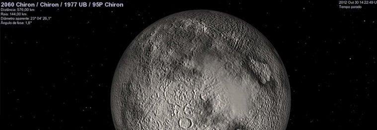 астероид Хирон