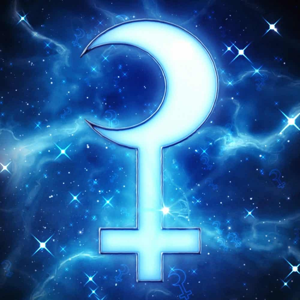 символ Селены в гороскопе