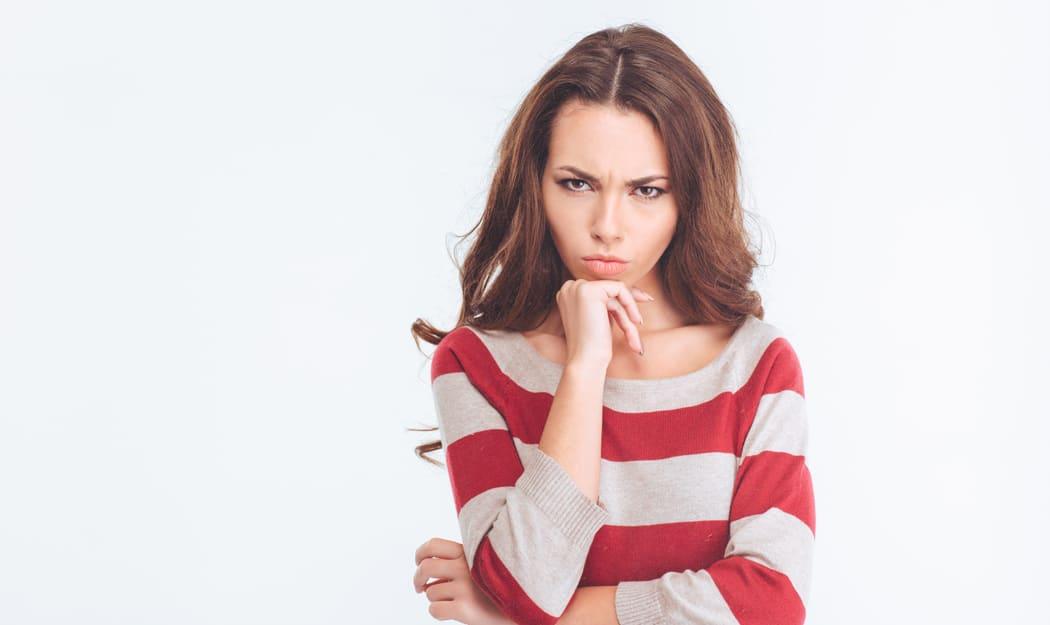 упрямая женщина фото