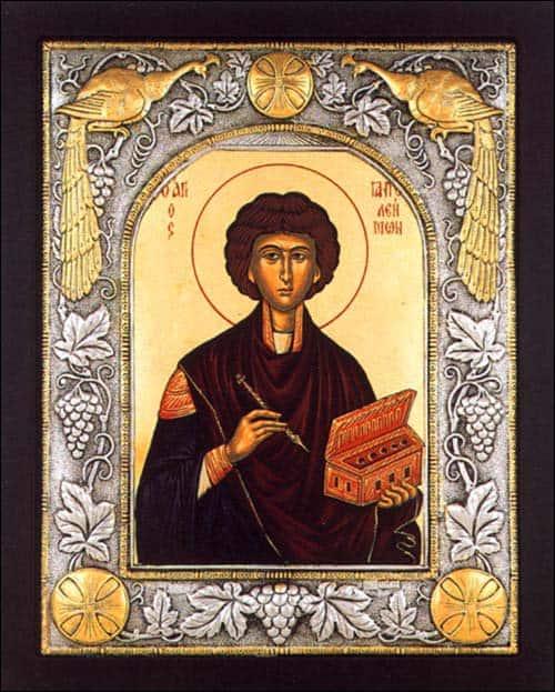 молитва пантелеймону целителю об исцелении больного