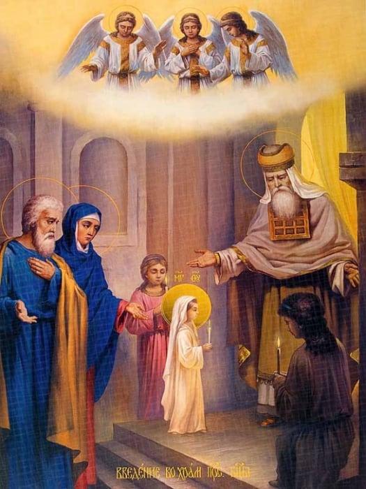 Введение во храм Пресвятой Владычицы нашей Богородицы