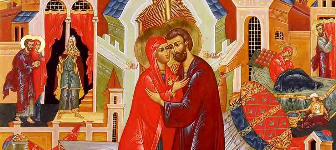 Праведные Анна и Иоаким