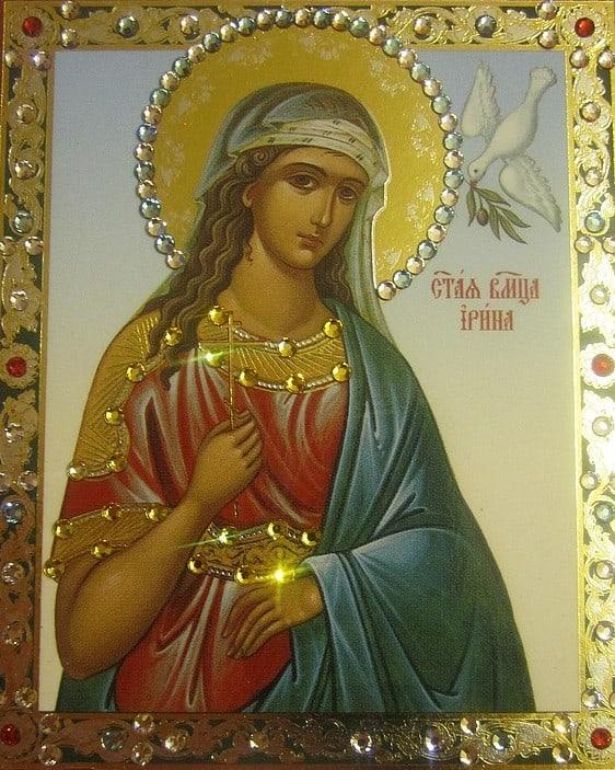 икона Святой Ирины
