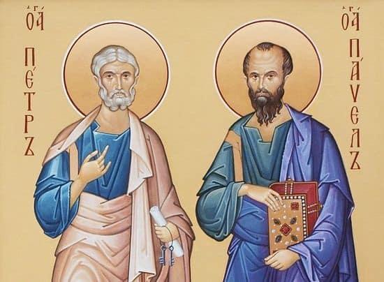 святые Пётр и Павел