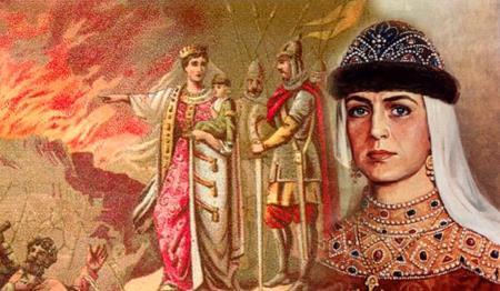 Ольга и её месть древлянам