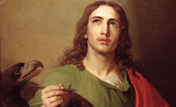 портрет Иоанна Богослова