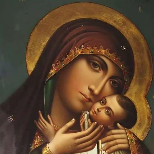 икона «Спасительница утопающих»