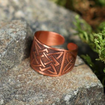 кольцо с Квадратом Сварога