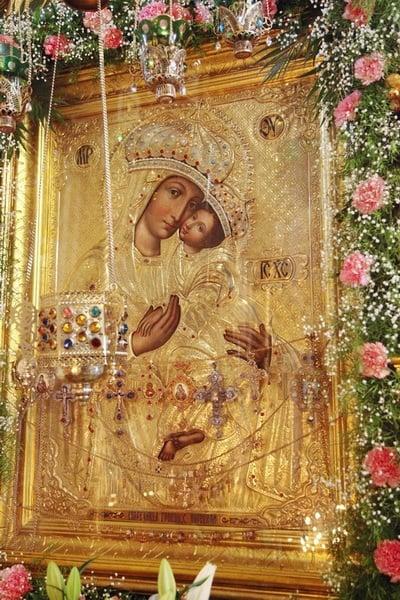 молитва споручница грешных божией матери на русском