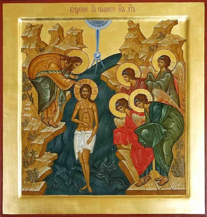 Навечерие Богоявления: Великое освящение воды