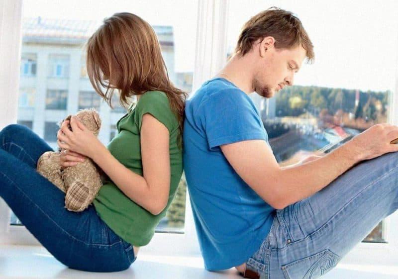 муж не хочет ребёнка