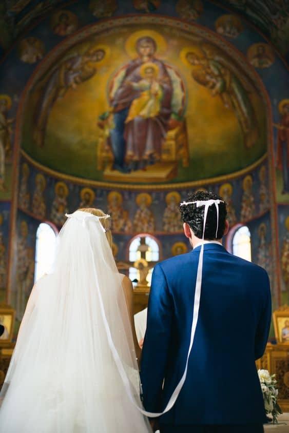 венчающаяся пара