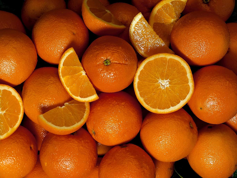 оранжевые апельсины фото
