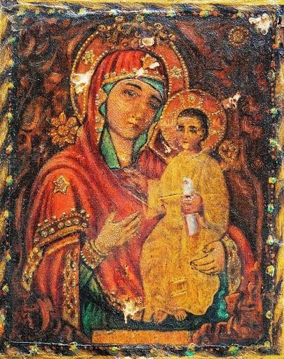 Икона «Избавительница от бед»