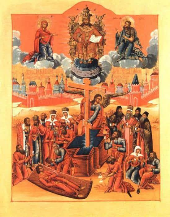 Происхождение (Изнесение) древ Креста Господня