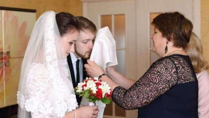 благословение матери на свадьбу дочери слова