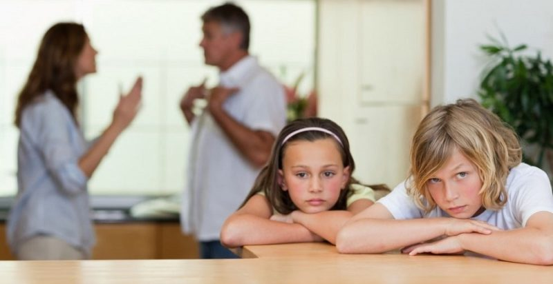 как пережить развод с женой если есть дети