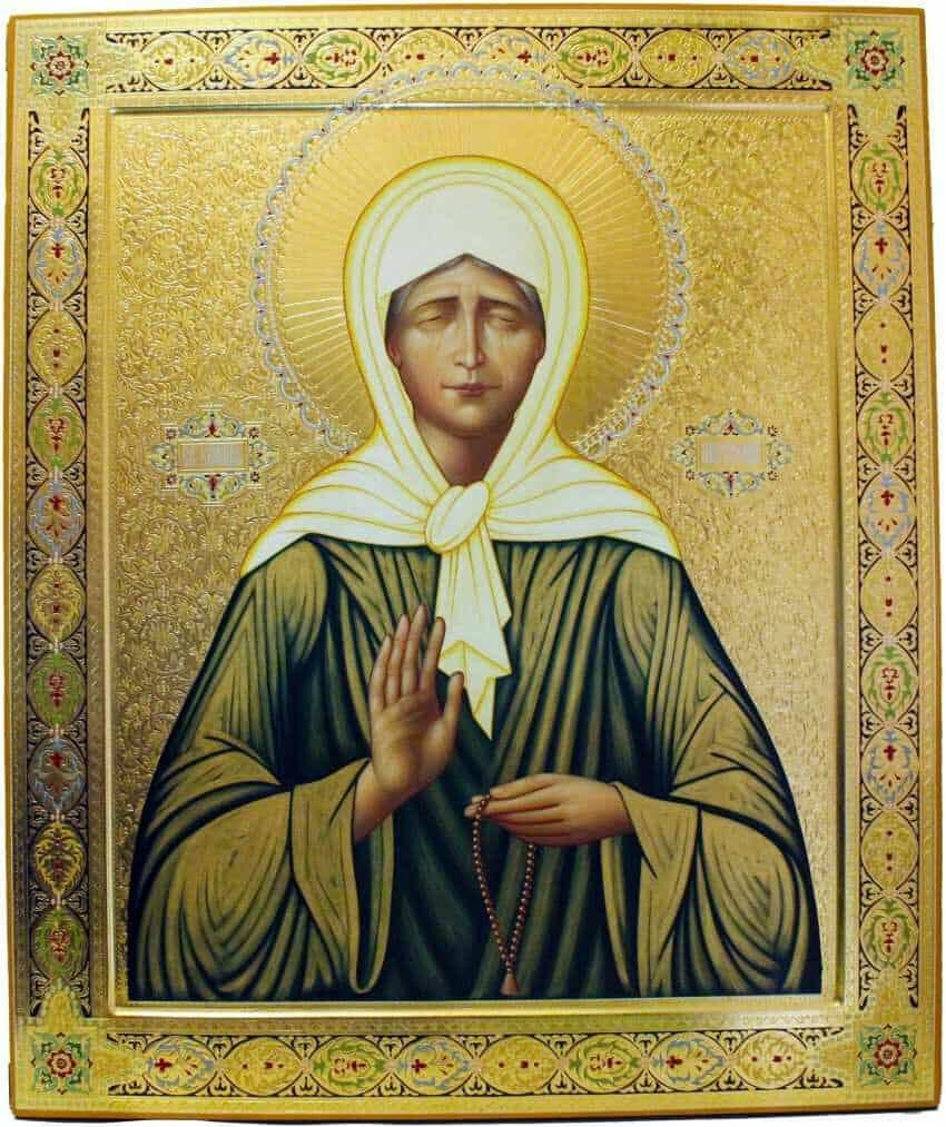 молитва матроне московской на все случаи жизни