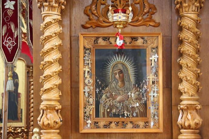 икона «Умиление» фото в храме
