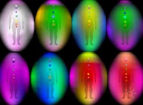аура человека цвета