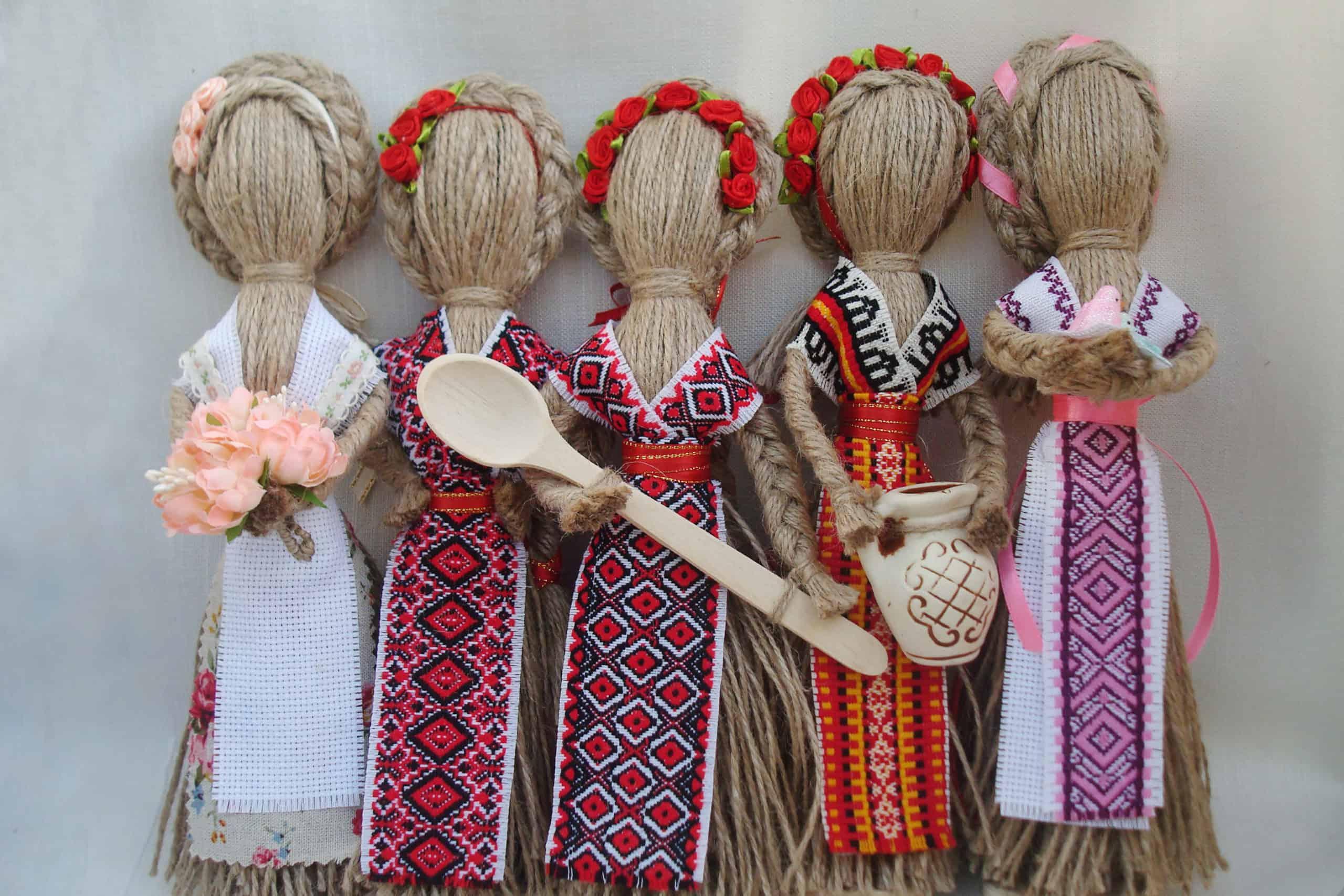 нитяные куклы-обереги