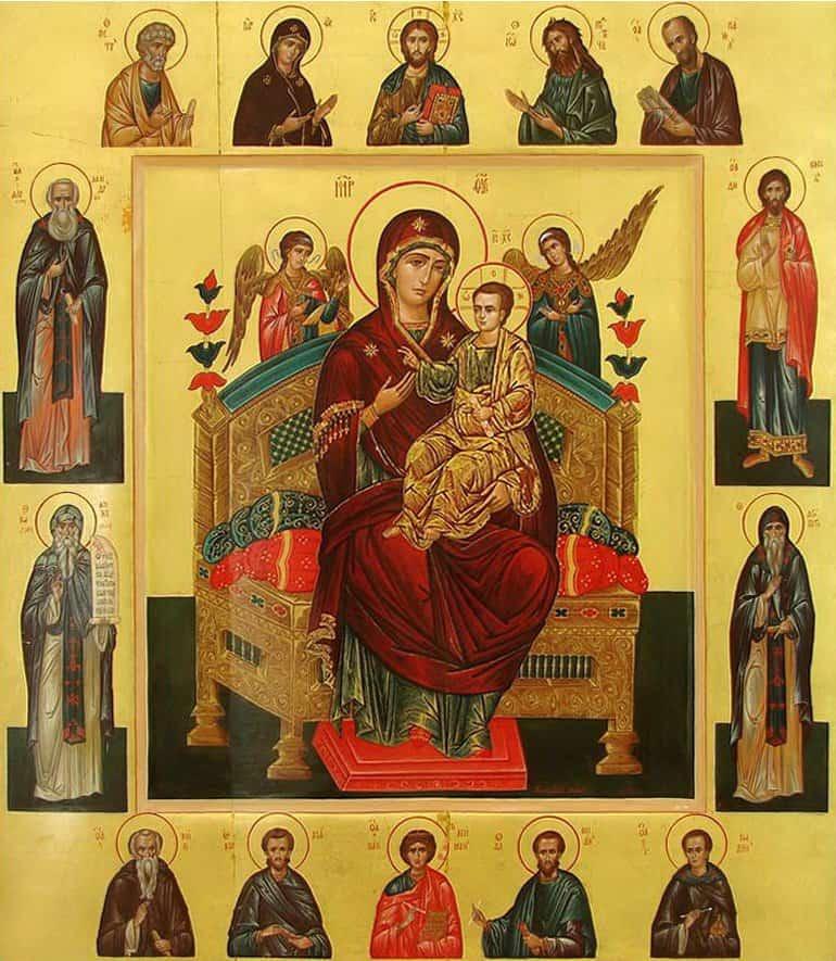 молитва перед иконой всецарица