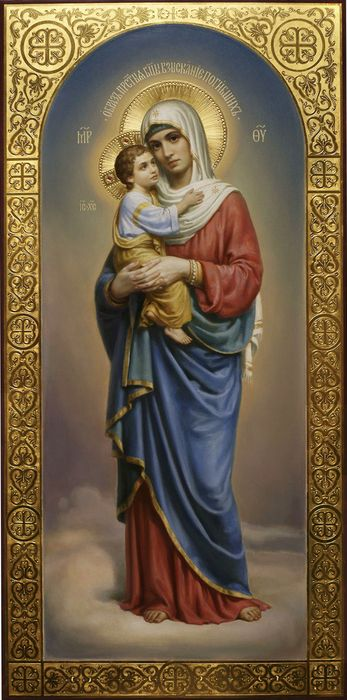 Богородичная икона; Взыскание погибших: значение
