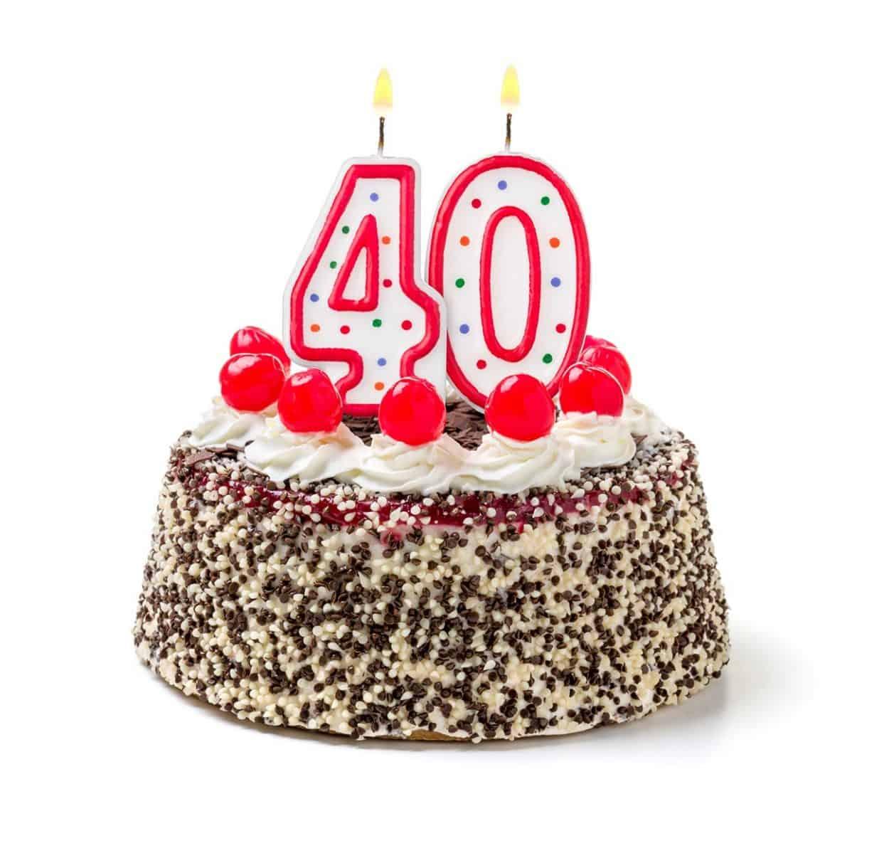 отмечают ли 40 летие женщине