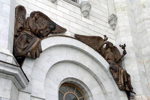 Архангел Варахиил скульптура